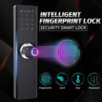 Anti-Theft Digtal Smart Door Lock Home Security Electronic Lock Support Touch Pa