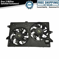 Dual Radiator A/C Air Conditioning Cooling Fan for Contour Cougar Mystique
