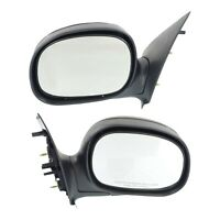 Kool Vue Manual Mirror For 1997-2002 Ford F-150 Paint To Match, Folding, Pair