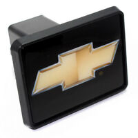 Chevy Gold Bowtie Logo Tow Hitch Cover Plug w/pin for Car-Truck-SUV 2
