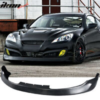 Fits 10-12 Hyundai Genesis Coupe 2Dr MS Style Front Bumper Lip - Urethane PU