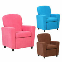 Kids Recliner Sofa Armrest Chair Couch Lounge Children Living Room Furniture