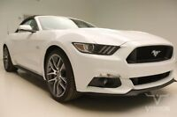 2017 Ford Mustang GT Premium Convertible 2-Door 2017 Navigation Leather Heated Cooled 20s SYNC Bluetooth V8 Vernon Auto Group
