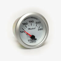 Marshall C2 Transmission Temperature Gauge, White Dial, Silver Bezel, 2237