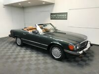 Mercedes-Benz 500-Series 3 OWNER, CLEAN CARFAX. 1987 MERCEDES BENZ 560 SL CONVERTIBLE. VERY NICE CONDITION CAR, DRIVES EXCELLENT