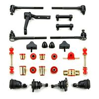 1966 1967 Chevrolet Chevelle Red Poly Front End Suspension Master Rebuild Kit
