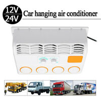 12V / 24V Car Air Conditioner Fan For Car Caravan Truck Hanging Air Conditioning