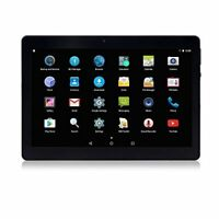 Android Tablet 10 Zoll 3G entsperrt Phablet Octa Core Androi(Schwarz)