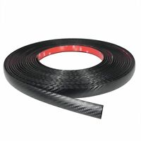 3M Exterior Car Truck Body Protective Molding 3/4 Carbon Fiber Trim Tape 10 FT
