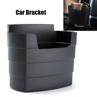 Universal Car Auto Phone French Cup Glasses Organizer Storage Box Holder Black