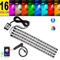 16 Colors Car Decorative Atmosphere Light Accessories Charge Interior Floor Lamp