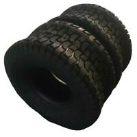 pair TIRES 15x6.00-6 Turf Tires Lawn Mower Tractor 2 Ply Rated Tubele