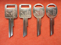 4 AMC AMERICAN MOTORS JEEP KEY BLANKS 1970 - 1984