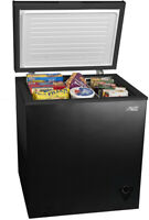 Deep Chest Upright Compact Freezer Storage Home Quick Defrost 5 Cu Ft Black New