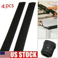 4pcs Silicone Kitchen Stove Counter Gap Cover Oven Guard Spill Seal Slit Filler