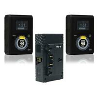 Core SWX Hypercore 98 2-Battery Gold Mount Kit with X2 Charger #HYPERCORE98AGAB