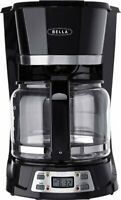 Coffee Maker 12 Cup LCD Display Programmable Coffee Maker Stainless Steel