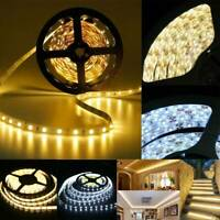 1M-20M 300 LED Strip Light SMD 3528 Waterproof Flexible 12V+Remote+Power Supply