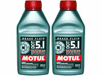 (2X 500mL) MOTUL DOT 5.1 HIGH PERFORMANCE 100% SYNTHETIC BRAKE FLUID