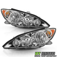 For 2005-2006 Toyota Camry LE XLE SE Headlights Headlamps Replacement Left+Right