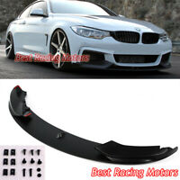 Performance Style Front Bumper Lip (PP) Fits 14-19 BMW F32 F33 F36 4-Series
