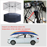 Portable Car SUV Umbrella Tent Roof Cover Waterproof UV Replaceable Oxford Cloth