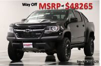 Chevrolet Colorado MSRP$48265 4X4 ZR2 Midnight Edition Crew 4WD New Navigation Heated Black Leather Camera GPS Off Road Pkg 17 2017 18 Cab