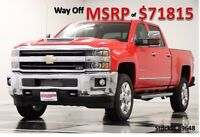 Chevrolet Silverado 2500 Duramax Diesel Crew Cab Truck For Sale New 2500HD Duramax Heated Cooled Leather Navigation Camera 17 2017 18 Cab 6.6L