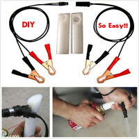 Car Vehicle Fuel Injector Flush Cleaner Adapter DIY Kit Cleaning Tool US SHIP