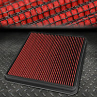 FOR 07-18 TOYOTA TUNDRA/SEQUOIA/LAND CRUISER RED REUSABLE DROP-IN AIR FILTER