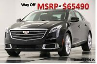 2019 Cadillac XTS MSRP$65490 AWD Premium Luxury Sunroof GPS Black New Navigation Heated Cooled Leather Seats Camera Bluetooth CUE 18 17 2018 19