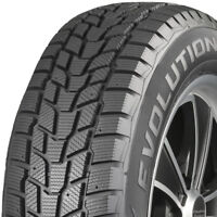 4 New 225/65-17 Cooper Evolution Winter Winter Studdable Tires 225 65 17