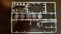 Chrome Wire Wheels Covers, Other Parts From NSRA 0775 Kit 1/25