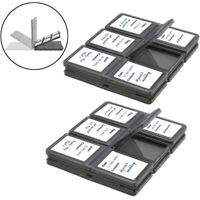 24 Slots, SD/SDHC Memory Card Hard Plastic Cases