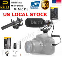 US Deity V-Mic D3 Superior Off-axis Sound Performance Cardioid Pattern Microphon