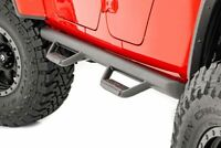 Rough Country Nerf Bar Hoop Steps (fits) 2019-2020 Jeep Gladiator JT Side Steps
