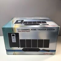 NEW Craig 5.1 Channel Home Theater System with DVD Player Remote NEW IN BOX Fast