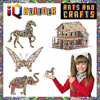 IQ BUILDER | ARTS AND CRAFTS FOR GIRLS AGE 7 8 9 10 11 12 YEAR OLD AND UP | 3D A