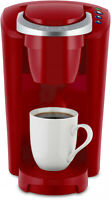 Coffee Maker Single-Serve K-Cup Pod Tabletop Kitchen Appliance Imperial Red