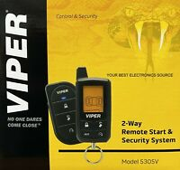 NEW Viper 5305V 2-Way Car Security and Remote Start System