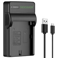 Neewer Slim Fast NP-F550 Battery Charger, Compatible with Sony NP F970,F960,F770