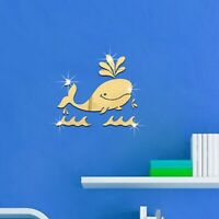 Home Acrylic Art Stickers Children Decals Room Home Supplies 3d Wall Stickers 6T