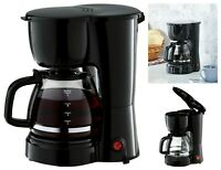 5 Cup Coffee Maker Brew Pot Kitchen Appliance Electric Brewer Filter Home Black