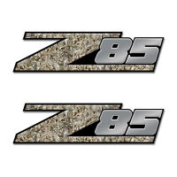 Z85 Truck Bed Camo Buck Skull Decal (2 pack)   Z85a06