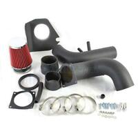 V8 4.6L Black Piping Cold Air Intake System w/Filter for 1996-2004 Ford Mustang