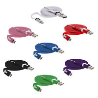 Micro-USB Flachkabel Flachband Kabel Tablet Datenkabel Handy Ladekabel flach