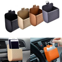 Universal Car Auto Storage Box Pouch Bags Phone Charge Holder Pocket Organizer