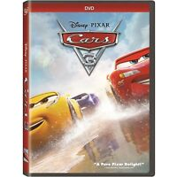 Cars 3 (DVD, 2018) New & Sealed w/ Slipcover FREE Shipping!