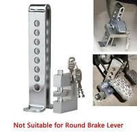 Brake Pedal Lock Security Stainless Steel Clutch Lock Anti-theft for Car