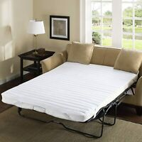 Couch Bed Sofa Sectional Living Room Sleeper Futon Furniture Loveseat Pad, White